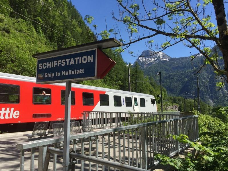 Train station at Hallstatt