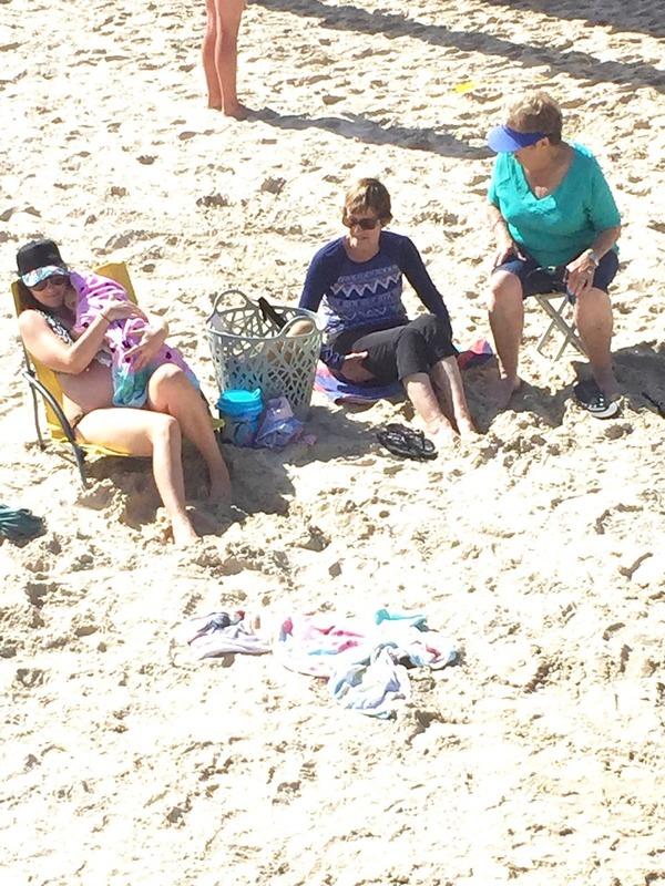 Jane, Mum and Barbara