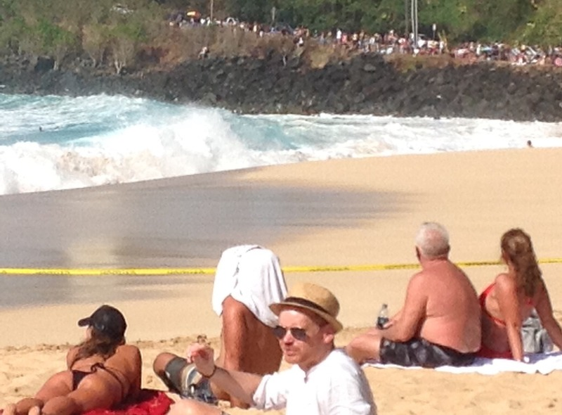 Sections of beach closed