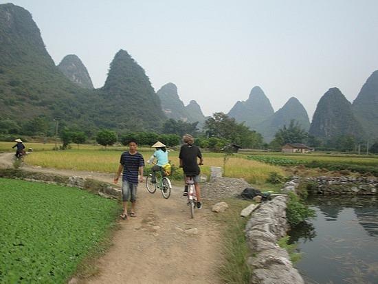 Heading back to Yangshou