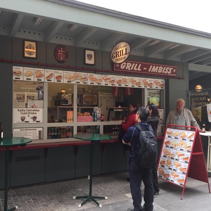 Favourite Bratwurst shop