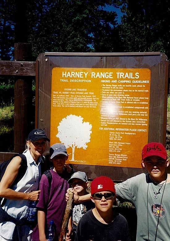 My Harney hike