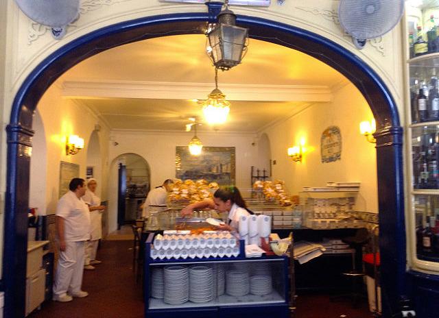 Inside the nata restaurant