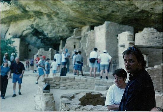 Brad at Mesa Verde