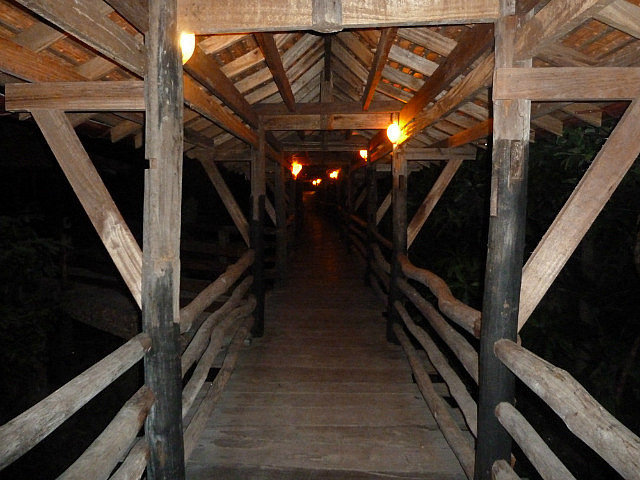 Timbered walkways