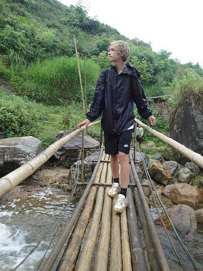 Another wobbly bridge