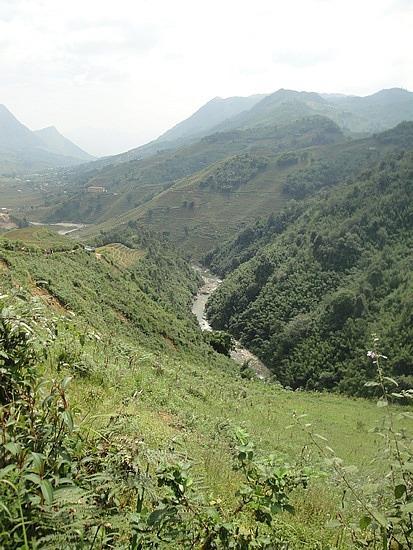 River way below