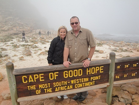 Southern most point of Africa