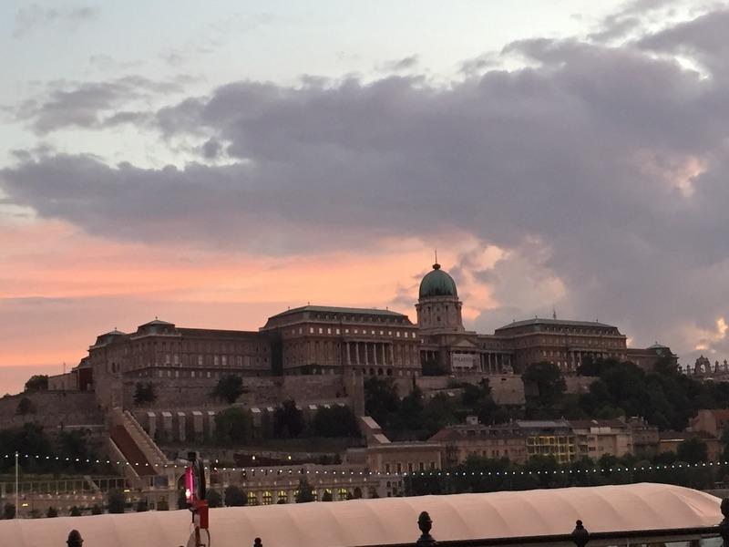 Castle Hill sunset
