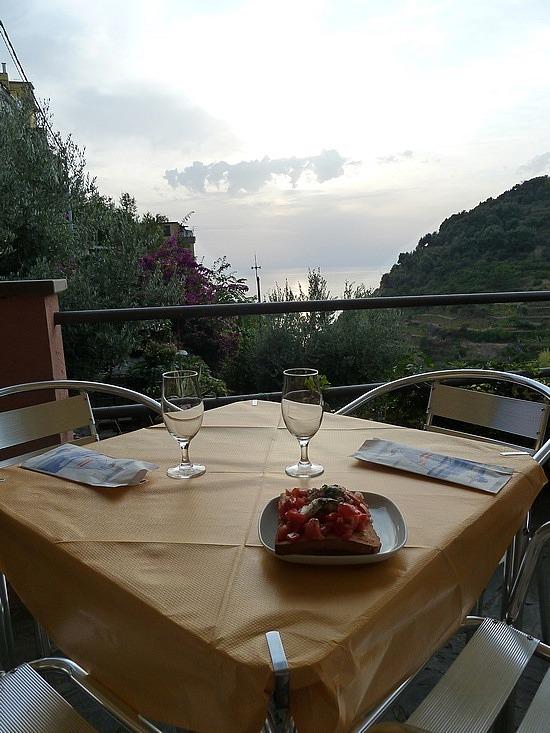 Dinner view