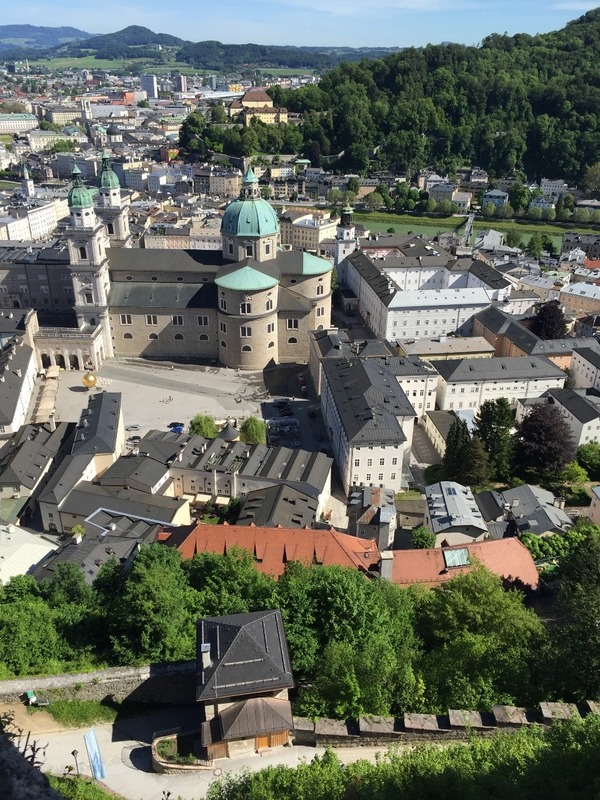 View from fortress of cathedral