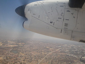 Small plane to Hoedspruit