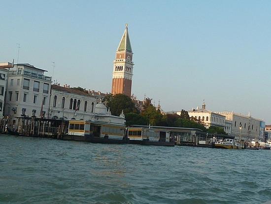 Approaching St Marks Square