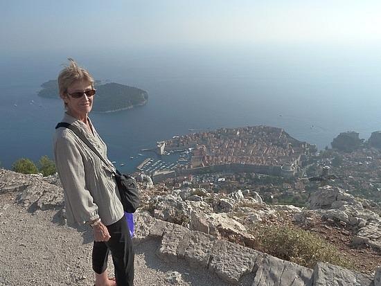 Mum at Panorama Hill
