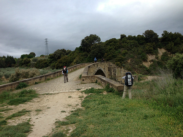 Bridge we rested on