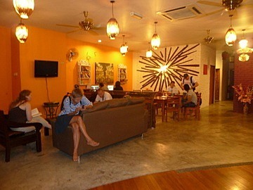 Guesthouse Common area