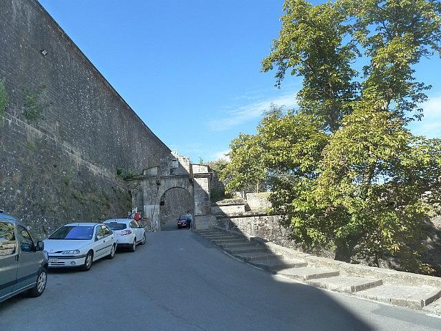 Pamploma city walls