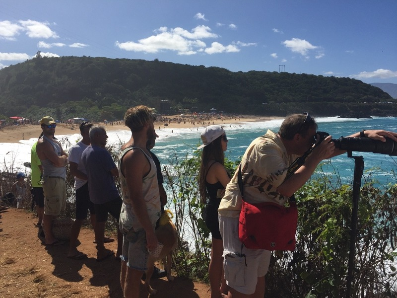 Cameras on the headland