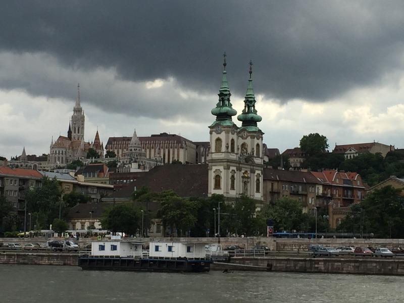 Buda side of River