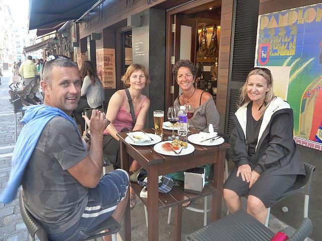 Warren, Lisette, Donna & me