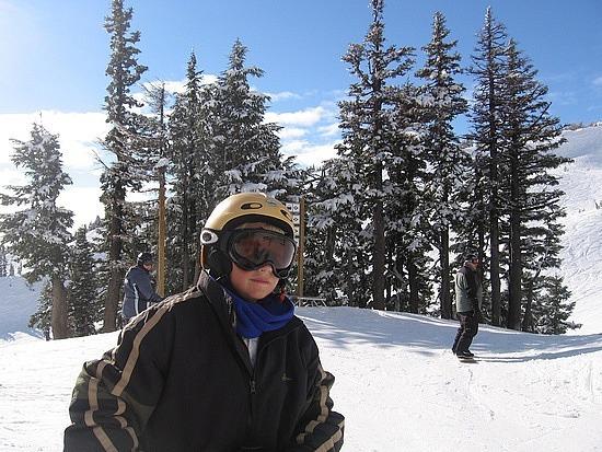 Nath snowboarding