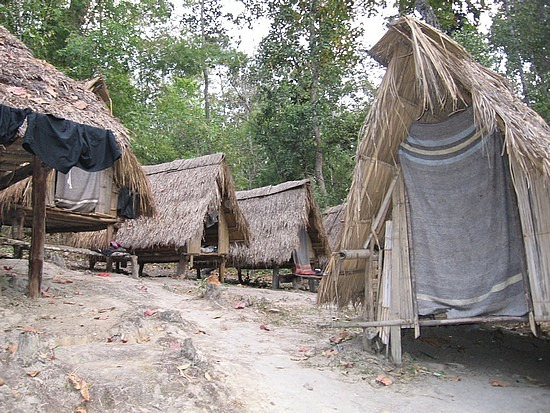 Our individual huts