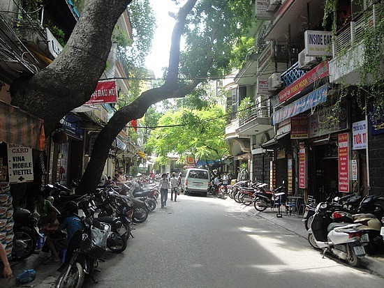Nice leafy local streets