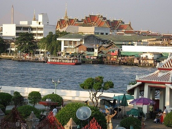 View over to Grand Palace