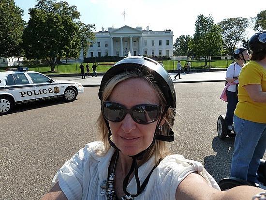 Outside the White House