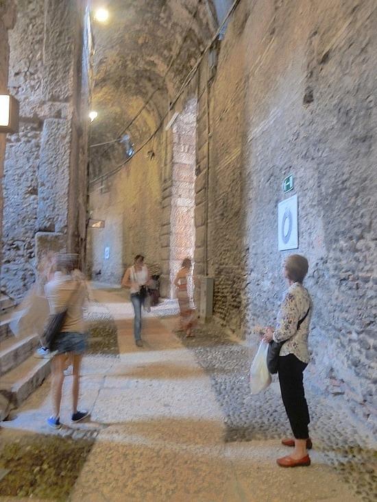 Corridors of stone