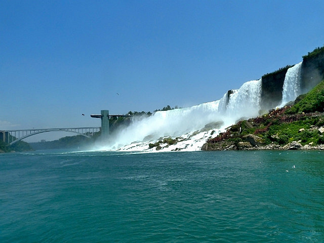 American Falls from the boat