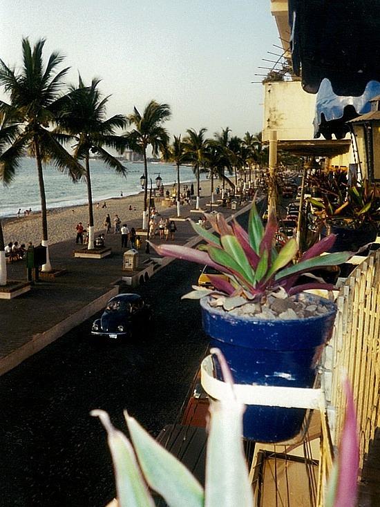 View from Zapetas restaurant