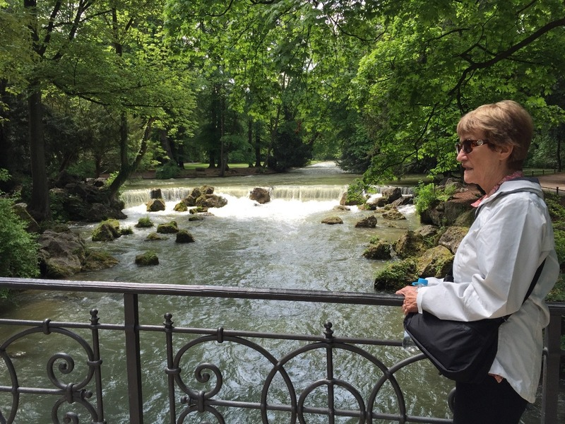 Weir in English Gardens