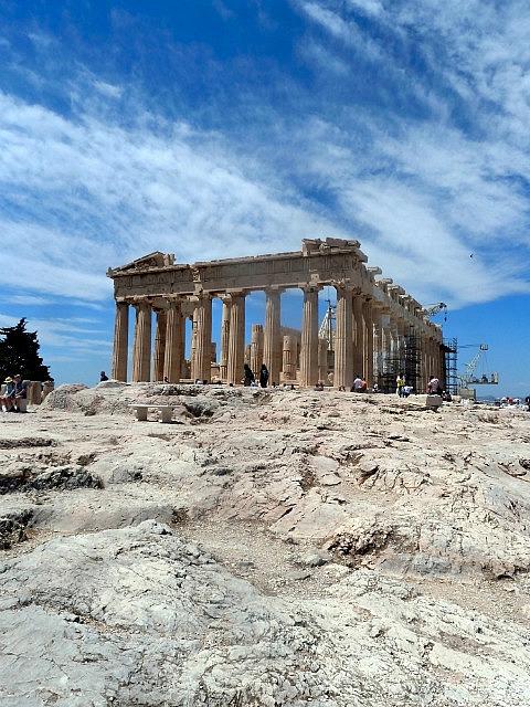 Parthenon built 5 BC!!!