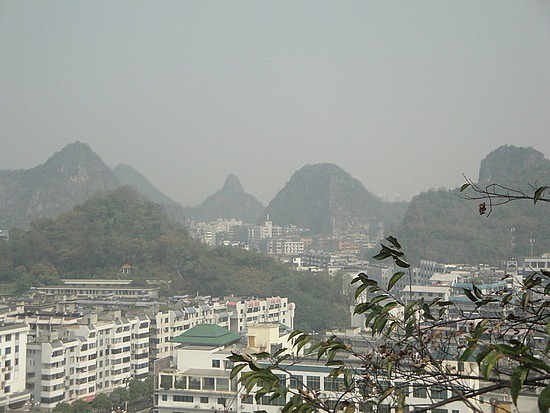 View of Guilin from Solitary Peak