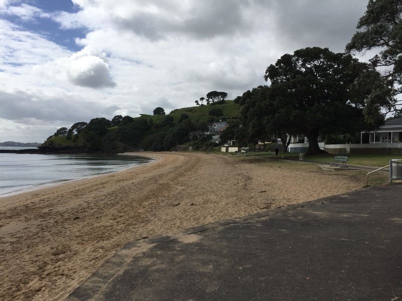 Peaceful cove of Cheltenham Beach