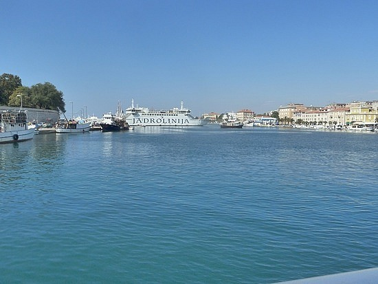 Boat moored everywhere