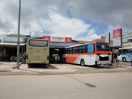 Bus rest stop
