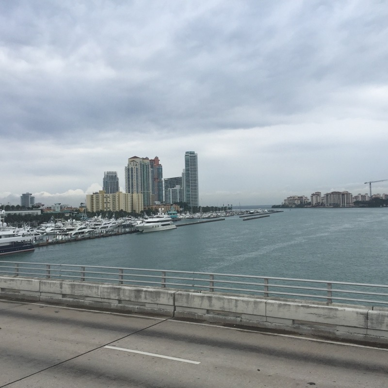Looking back to South Beach