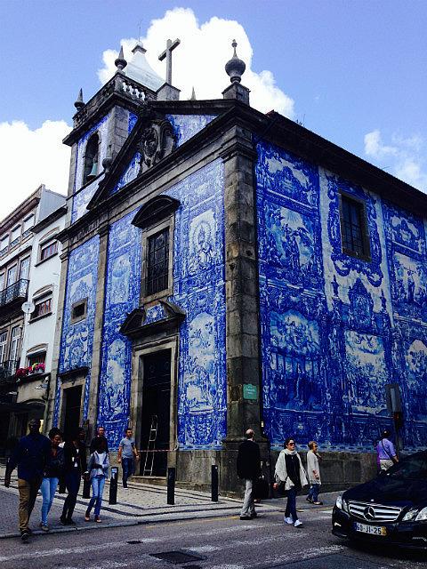 Stunning tiled building