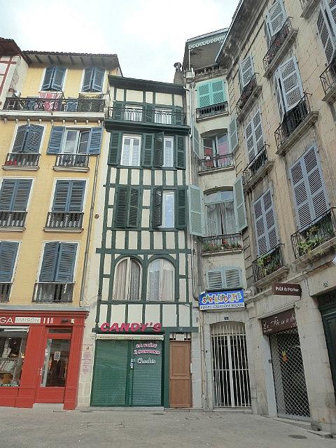 Basque Buildings in Bayonne