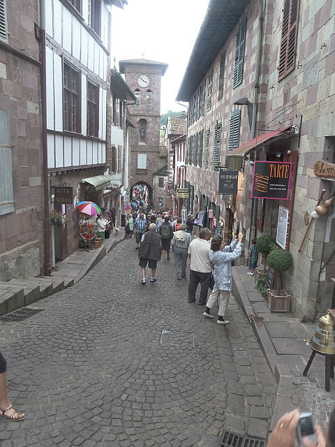 La Citadelle - the main street of old town