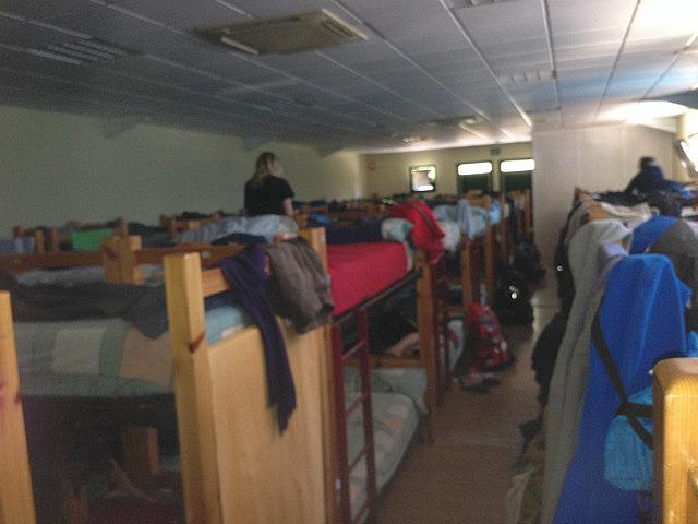 Biggest dorm I slept in