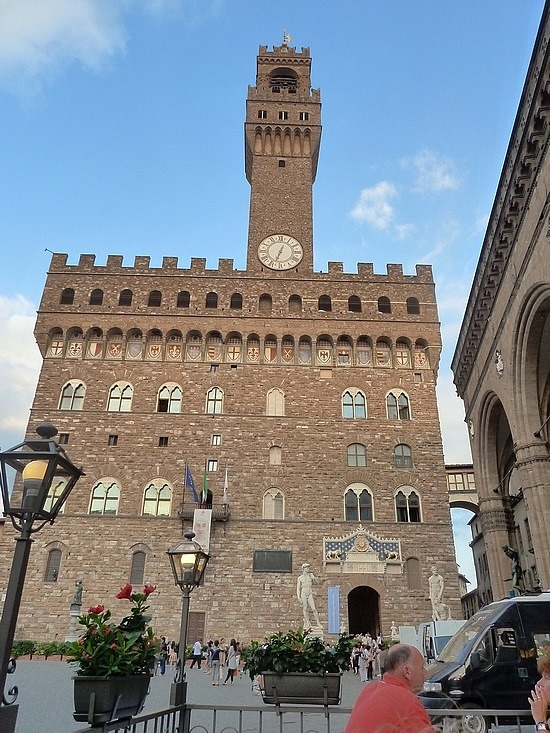 in another piazza