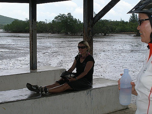 Rest at a fishing village