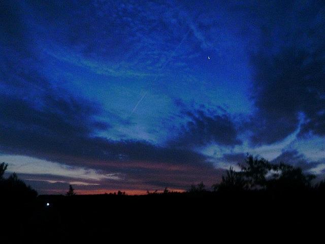 Starry night/morning