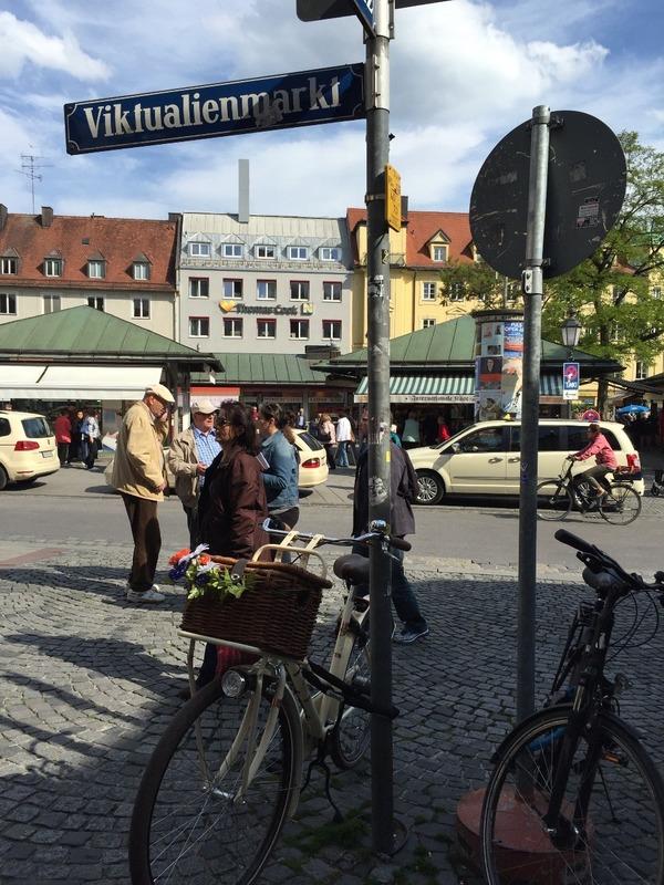 Viktualienmarkt originated as a farmers market