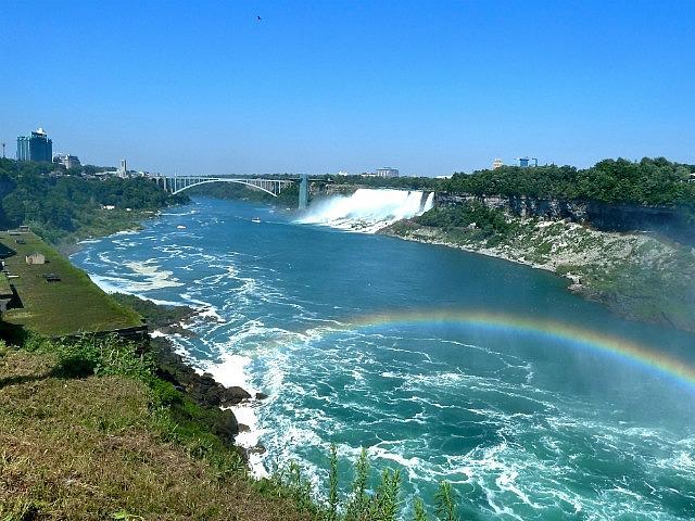 Rainbow Bridge, AMerican Falls & rainbow!!!