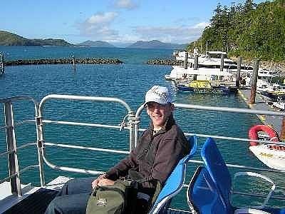 Waiting to go para-sailing