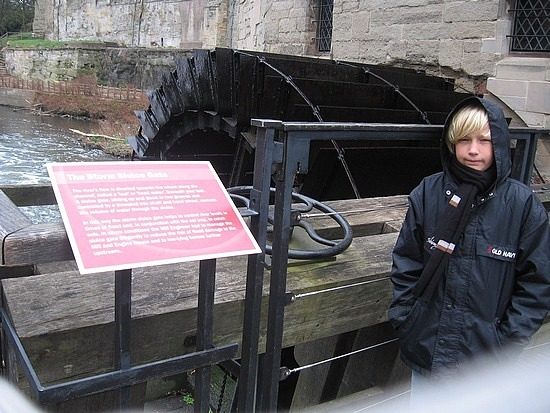 Engine Room of castle